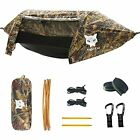 Camping Hammock Tent with Mosquito Net and Rain Fly for 1 2 Persons Camouflage