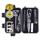 Eachway Professional 10 in 1 Emergency Survival Gear Kit Outdoor Survival Tool