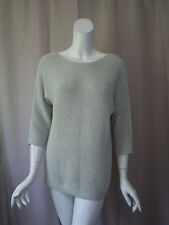 Chico's Gray Sweater Top size 2 Excellent