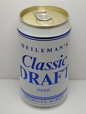 Heileman's Classic Draft Beer Pull Tab Test Can ? G Heileman Brewering La Cross