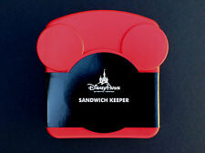 NEW DISNEY Parks MICKEY MOUSE ICON SANDWICH KEEPER Plastic Storage Box Container
