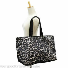 NWT Coach XL Nylon Packable Weekend Tote 77316 Duffel Travel Ocelot Overnight