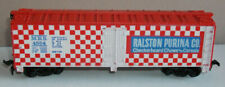 Tyco HO 355E Billboard Reefer 40 foot RALSTON PURINA - RED ROOF & ENDS - boxed