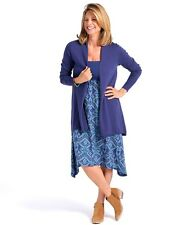 NWT Fresh Produce Surfside Skirt / Dress in Ikat Pattern Moonlight Blue Large L