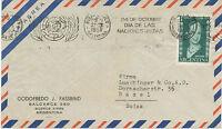 ARGENTINIEN 24 de OCTUBRE / DIA DE LAS / NACIONES UNIDAS / BUENOS AIRES / ARGENT
