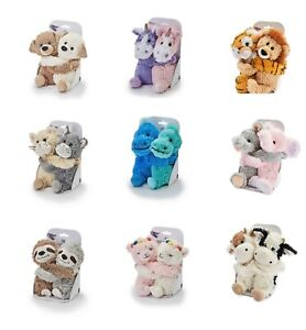 INTELEX WARMIES MICROWAVEABLE LAVENDER SCENTED SOFT TOY - WARM HUGS