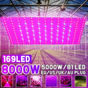 169LED Pflanzenleuchte Wachstumslampe LED Pflanzenlicht Vollspektrum Grow Light