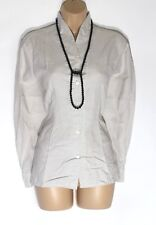 Women's Vintage TRUST SHIRT COMPANY Long Sleeve Fitted Cotton Blouse Shirt UK14