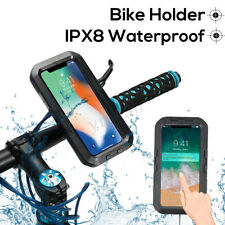 IPX8 Étanche Sac Etui Téléphone Support Scooter Moto Vélo Pr iPhone XS Max GPS