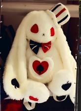 Girls Lolita Rabbit Plush Backpack Stuffed Doll Messenger Shoulder Bag Toy Gift