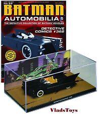Eaglemoss 1:43 Batman Automobilia Batmobile Detective Comics #362 EM-BM029 w/Mag
