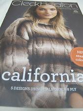 CLECKHEATON CALIFORNIA KNITTING PATTERN BOOK,NEW,NO 3010
