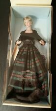 Franklin Mint Princess Diana porcelain doll plaid gown she wore in Scotland NEW