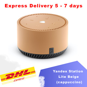 Яндекс Станция Yandex Station Mini Lite Beige Smart speaker Алиса Alisa Alice