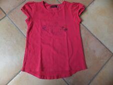 Tee shirt rose CATIMINI 8 ans thème caméléon TBE