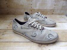 VANS OTW Trout Woessner Beige Canvas Shoes Men's 9.5