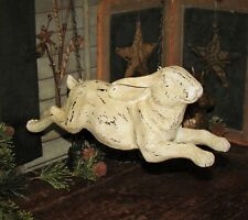 Primitive Vtg Style Farm Barn Running Bunny Rabbit Hare Arrow Hanger Replacement