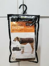"Danish Design Waterproof Harness Dog Coat Black 14""/36cm Can use w/dog a harness"