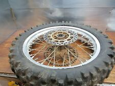 RMX 250 SUZUKI 1991 RMX 250 1991 REAR WHEEL