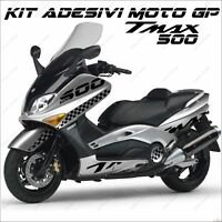 ADESIVI SPORT SCOOTER GRAFICA COMPATIBILE YAMAHA TMAX T MAX 500 01/07 NERO MOTO