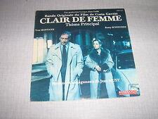 BOF CLAIR DE FEMME 45 TOURS FRANCE ROMY SCHNEIDER++