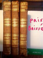 """Dante """"La divina commedia"""", 3 tomes, 1821 (Éditeur: Ciardetti, Florence)"""