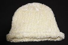 Winter Warm Casual Light Yellow/Cream Fluffy Simple Girly Beanie (S391)