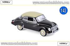 DKW 3=6 1958 Black  NOREV - NO 820313 - Echelle 1/43