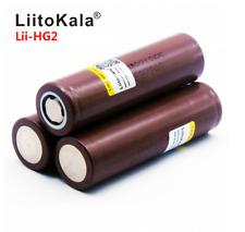 1PCS Liitokala HG2 3000mAh 20A 35A power electronic cigarette battery