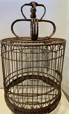 Large Chinese Bamboo Bird Cage