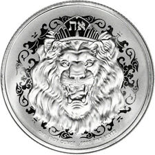 2021 Niue Silver Roaring Lion Head 1 oz $2 Bu