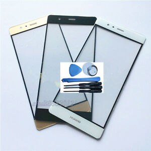 front Outer Glass Lens screen Replacement parts for huawei P9 5.2'' inch new
