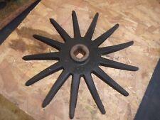 "New Idea Corn Picke - Genuine LATE Type CAST Center 305266 13"" USED Finger Wheel"