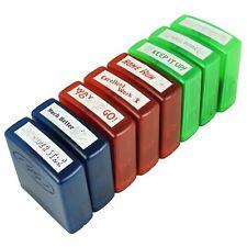 Set Of 8 Self Ink Reward Stamps School Teacher Aid Multi Colour Stamps Designs