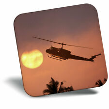 Awesome Fridge Magnet - Helicopter Sunset Vietnam War Cool Gift #21677