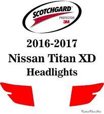 3M Scotchgard Paint Protection Film Pre-Cut Clear Fits 2016 2017 Nissan Titan XD