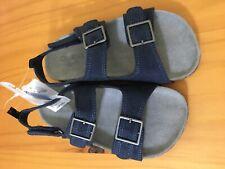 New OshKosh Bgosh Boys Navy Blue Sandals Shoes