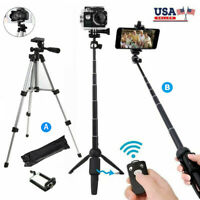 Professional Camera Tripod Stand Selfie Holder Mount for iPhone Samsung Phone US