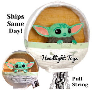 Star Wars The Mandalorian Child Baby Yoda Figure PINATA Birthday Party Supplies