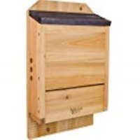"1 Pack Natures Way Cwh6 Triple Chamber Cedar Bat Houses 20.5"" x 12"" x 5"""