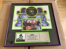 Poison's Greatest Hits Riaa Certified Platinum Plaque