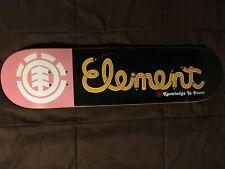 Rare Vintage ELEMENT SKATEBOARDS Deck (2005) Size 7.75 ~ Bam Margera Era!