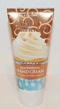 BATH & BODY WORKS VANILLA BUTTERCREAM NOURISHING HAND CREAM LOTION SHEA BUTTER