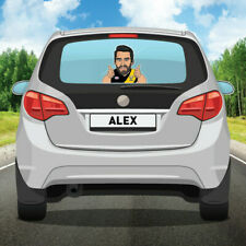 AFL Player Back Window Decal