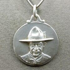 French Medal. Baden Powell. 1936 Paris. Boy Scouts Pendant. Jamboree.