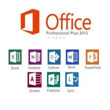 Microsoft Office 2013 Professional Plus 32 / 64 bit Lifetime License Key for 2PC