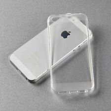 Ultra Thin Transparent Soft Silicone Back Case Cover For Apple iPhone 5G / 5SE