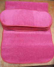 8.5x22.00inches(22x56cm) 12x STAIR PADS / TREADS BRIGHT PINK 3238