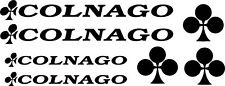 7 Colnago Die Cut Decal Stickers Bicycle Kit MADE IN USA