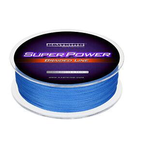 KastKing SuperPower Braided Fishing Line - 150-1097Yards 6-65Lbs Leader line